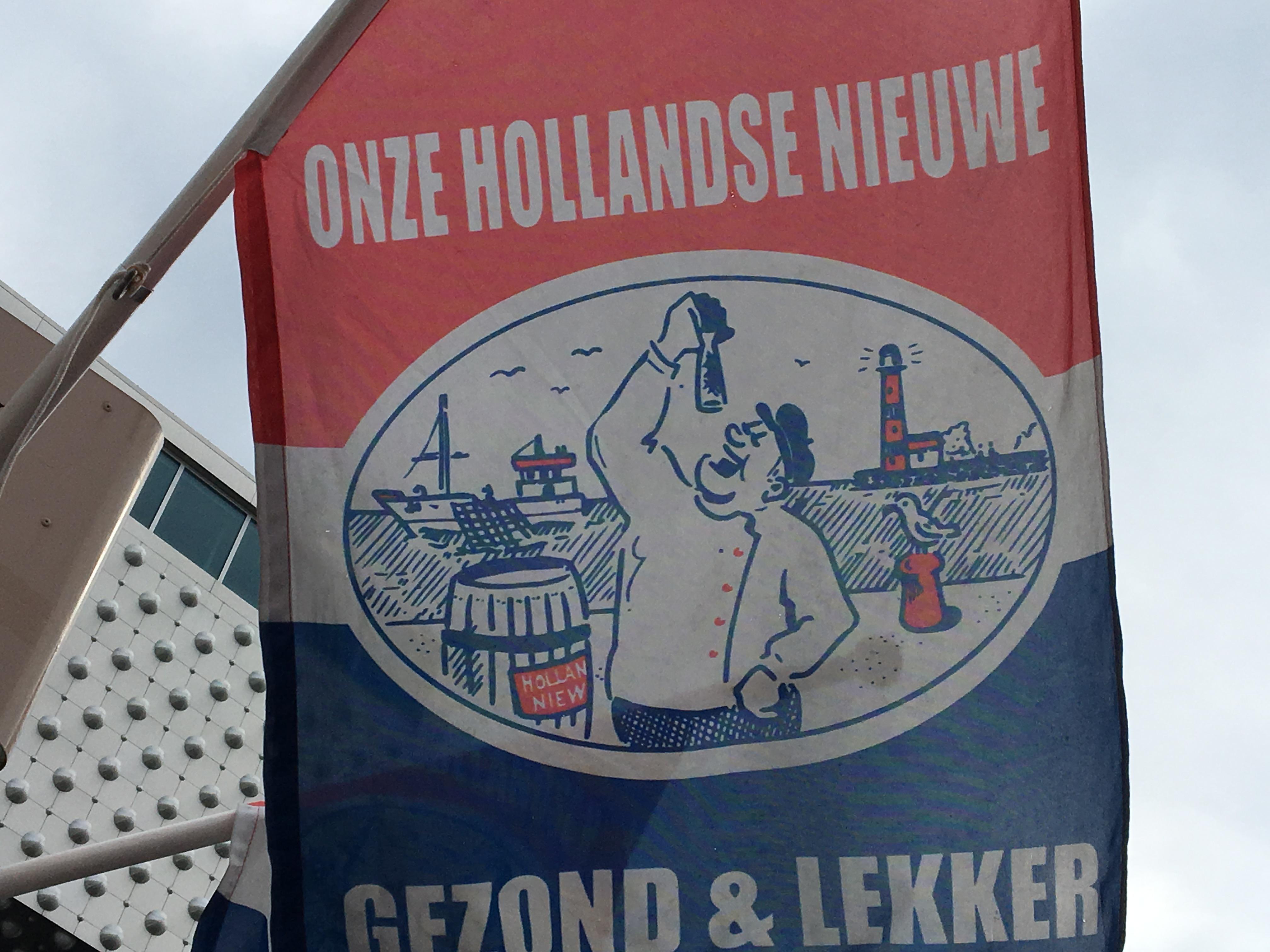 オランダ名物の「Haring(ハーリング)」