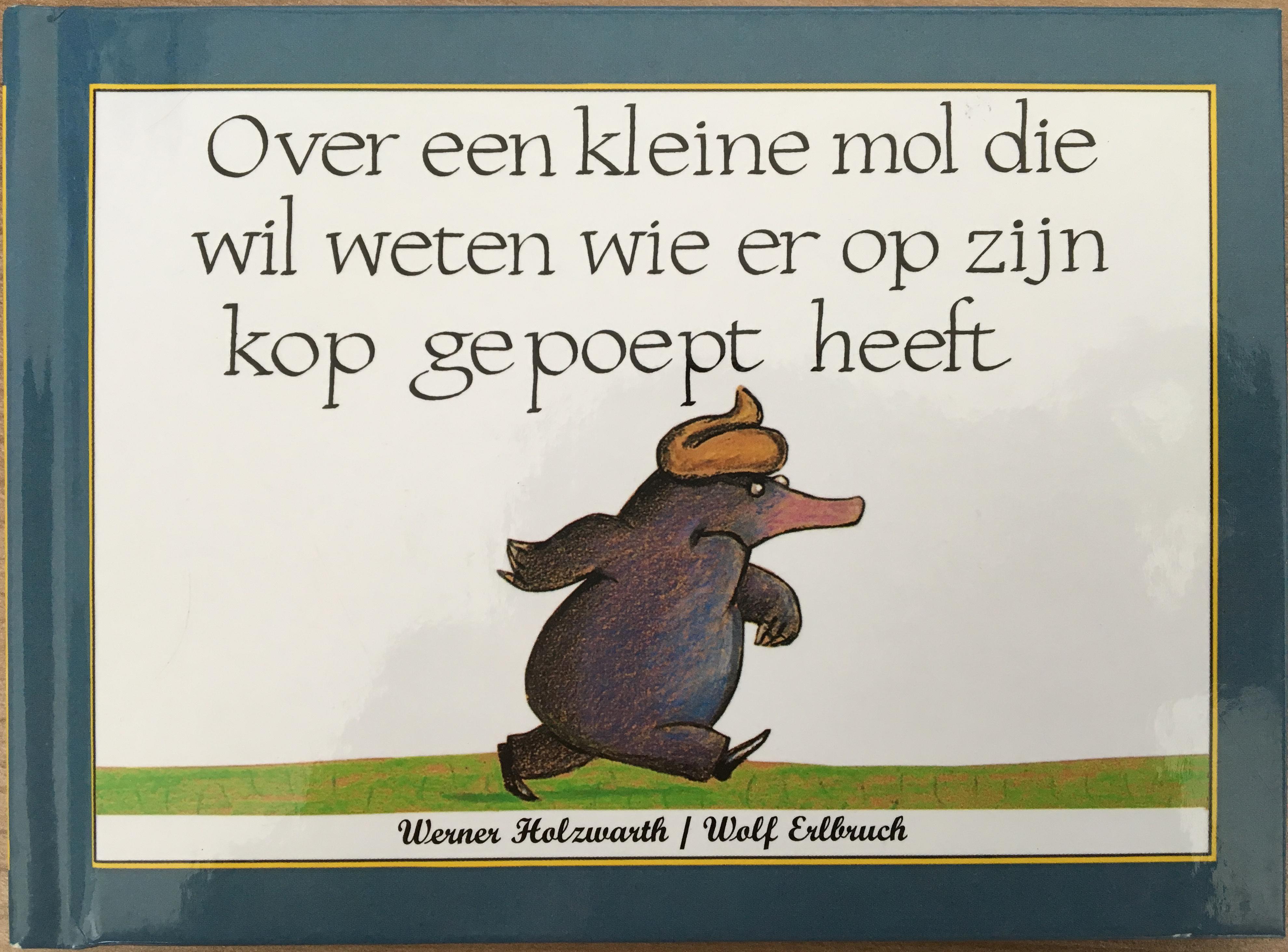 オランダ語のちょっと変わった話の絵本