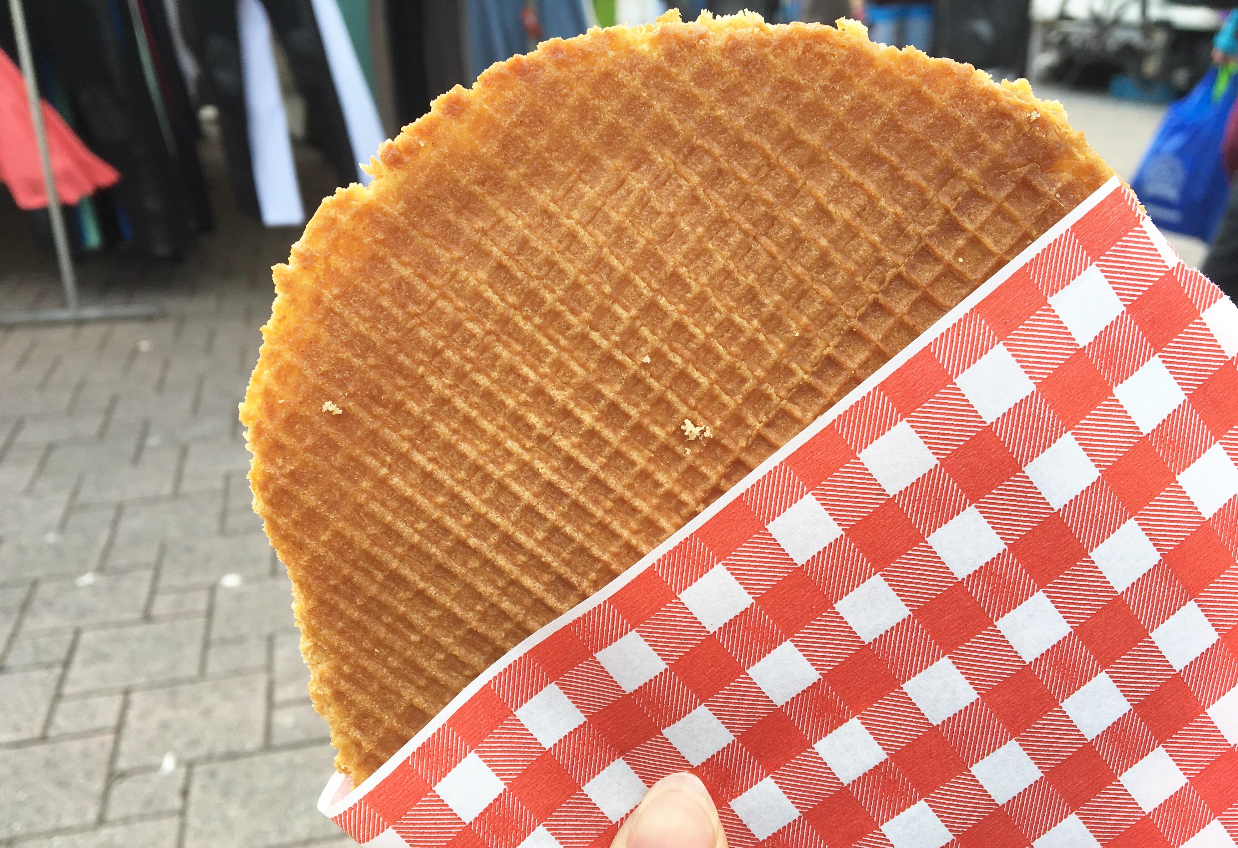 オランダのとびっきり甘いお菓子!ストロープワッフル