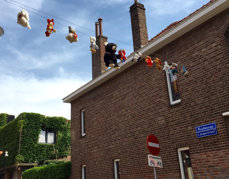 Hug street in Tilburg