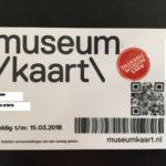 オランダのミュージアムカード(Museumkaart)の更新