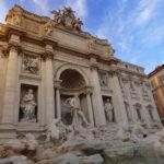 ローマで休日① 「Day1 オランダからローマへ&トレヴィの泉」