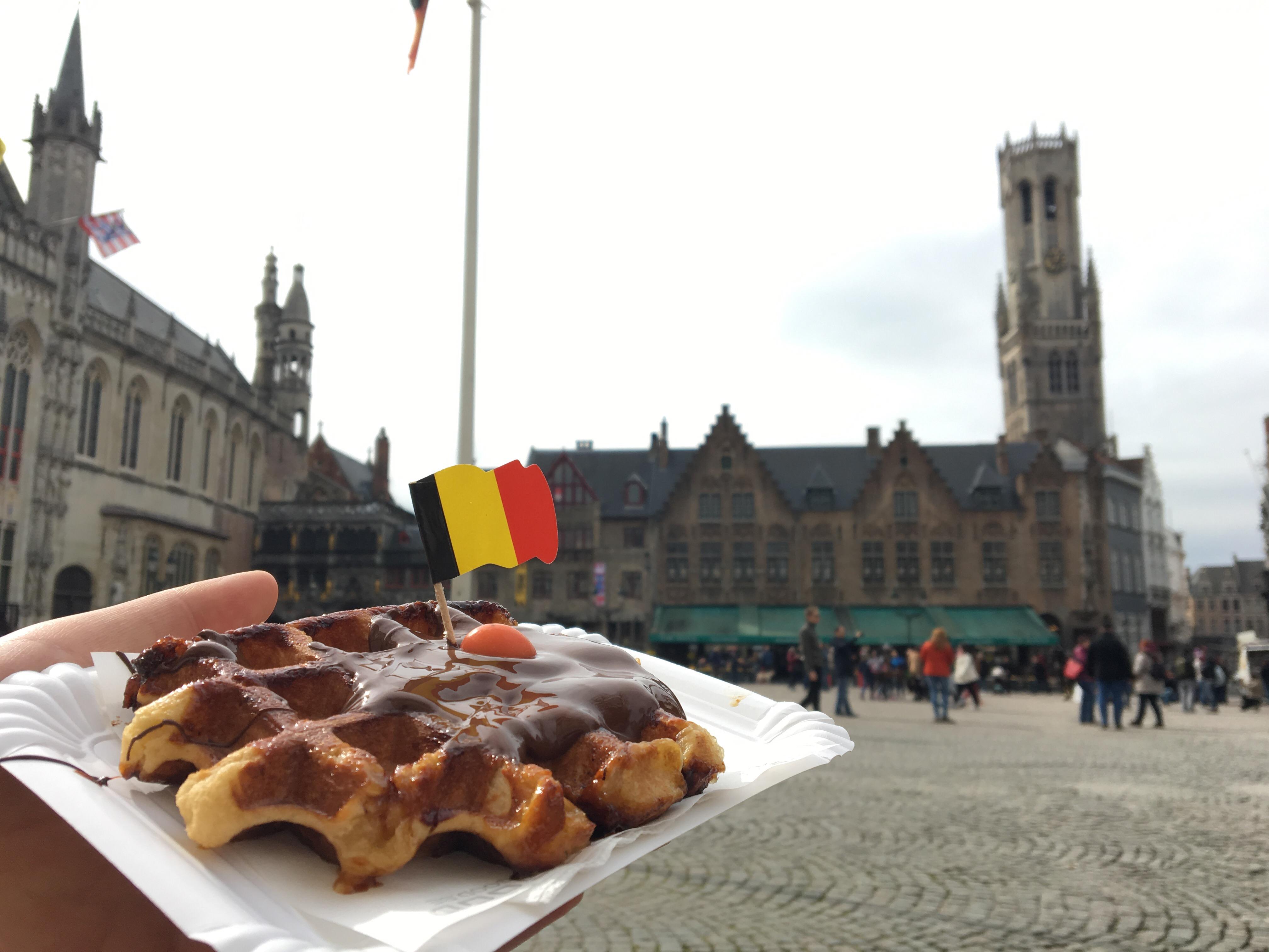 オランダからブルージュへ小旅行④「運河クルーズ」