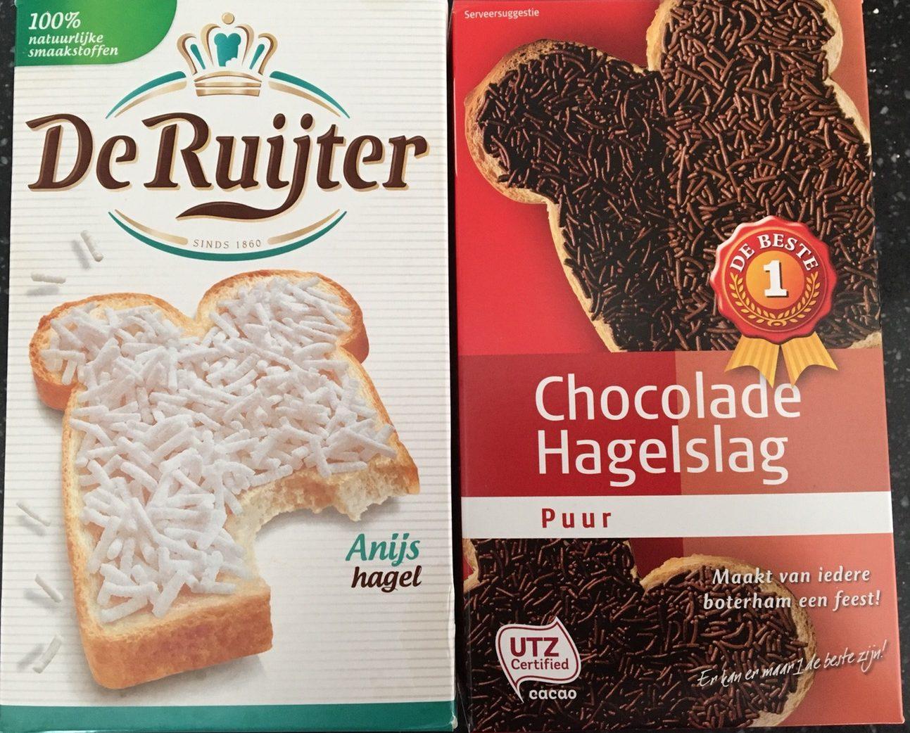 オランダのパンのお供「チョコレートふりかけ」