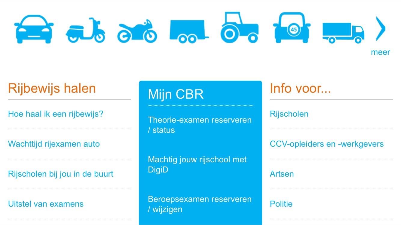 オランダ運転免許証の書き換えについて