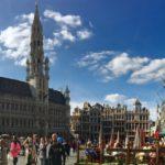 オランダからブリュッセルへ小旅行①(グラン=プラス&小便小僧)
