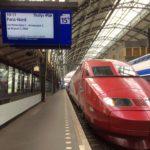 オランダからパリへ小旅行①「高速鉄道タリスに乗ってパリへ」